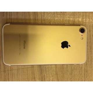 《代售》iPhone 7 128G 稀有黃金甲 金色