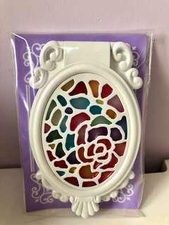 Anna Sui全新白色鏡(可座枱及帶出街)絶版