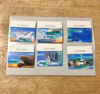 香港新機場郵票編號位