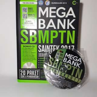 Mega Bank SBMPTN Saintek + CD