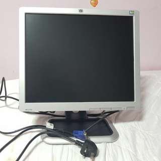 Computer LCD colour monitor 17 inch