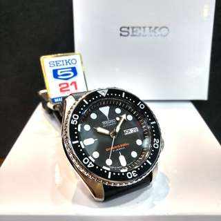 * FREE DELIVERY * Made In Japan Brand New 100% Authentic Seiko Automatic Classic 007 Mens Diver Watch SKX007J SKX007