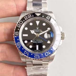 玩表吧 見面交收 黑藍圈 116710BLNR 40mm