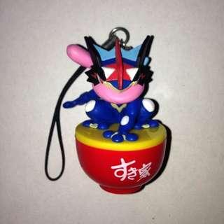 Pokemon Greninja Sukiya Bowl Keychain / Phone Charm
