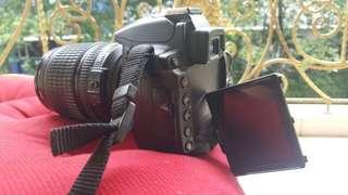 Kamera Nikon D5000 Body dan Lensa Tele Barang Maknyus Murah