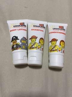 Legoland Body Lotion/ Shampoo n Conditioner