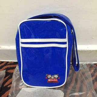 BNIP ocbc Mighty Savers Blue Sling Bag