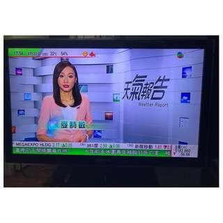 "Samsung 40"" FullHD LED iDTV, 內置高清, 有遙控, 座架, 100%操作正常"