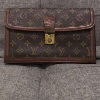 REPRICED!Louis Vuitton Vintage Clutch Bag