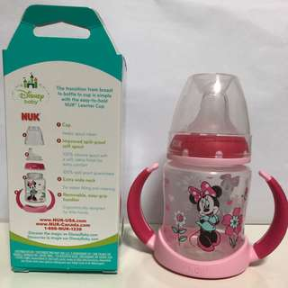 [BNIB] NUK Minnie Mouse Learner Cup