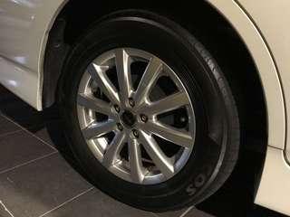 Rim Toyota Wish X 15 Inci