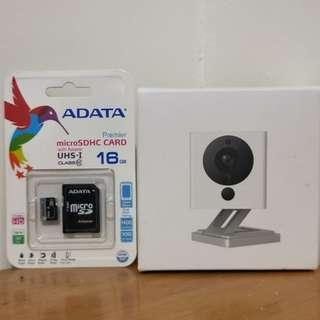 小米 小方智慧攝影機+16G記憶卡