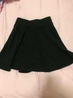 H&M黑色短裙90%new