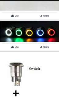 led on off switch