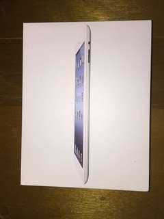 The new ipad 空盒