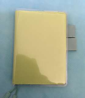 A6 Hobonichi Techo notebook cover with cover on cover