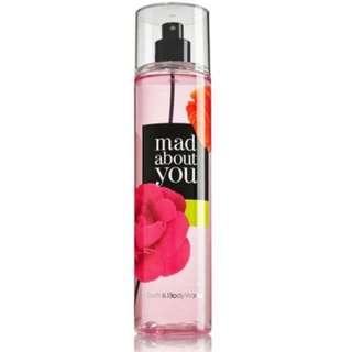 Bath and Body Works - MAD ABOUT YOU Fine Fragrance Mist 8 fl oz / 236 mL (Limited Edition)