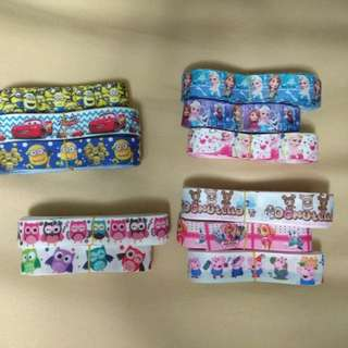 Lanyards, pacifier clips, bag tags