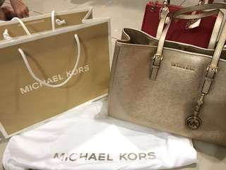 💯 Authentic Michael Kors Tote MK Bag