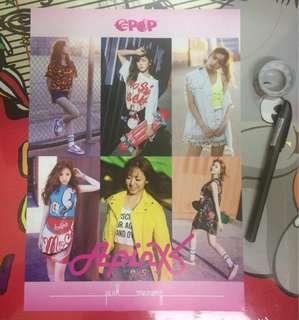 BTOB X APINK EPOP Mini Poster
