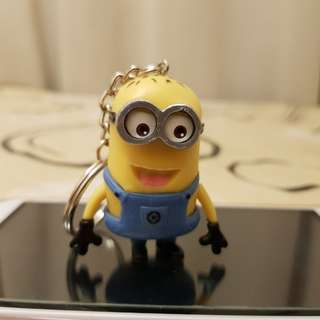 Despicable Me Minion Keychain