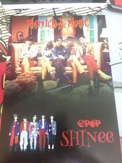 SHINEE X CHANBAEK EPOP Mini Poster