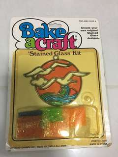 Bake a craft stained glass kit
