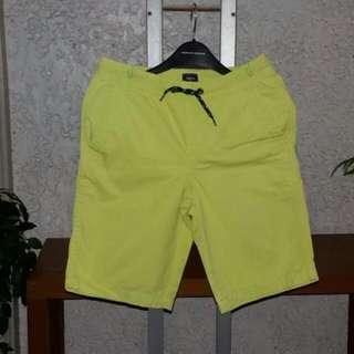 Gap Kids Neon Yellowgreen Drawstring Shorts