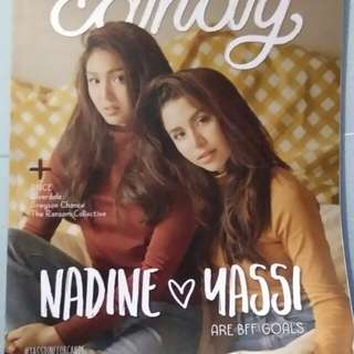 Nadine and Yassi Candy Magazine