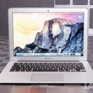 Macbook Air (13.3 inches, 128gb) Early 2015