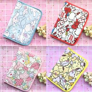 [PO] Cartoon Waterproof Document Folder / Passport Holder