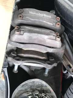 Mercedes w220 brembo 4 pot brake