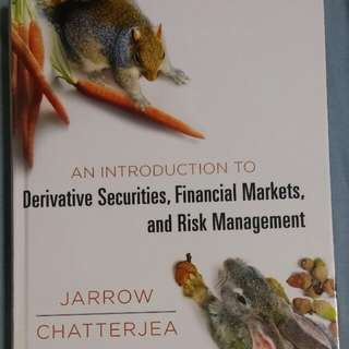 Derivative Securities, Financial Markets, and Risk Management - Jarrow Chatterjea