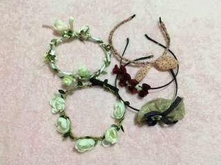 ‼️Bundle Assorted Head and Flower Bands