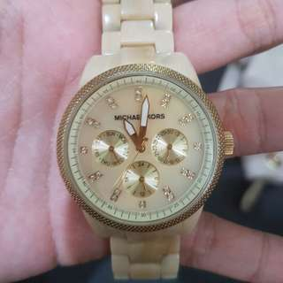 Auth. Michael Kors chrono watch