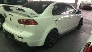 Mitsubishi Lancer for rent in early April 3-9