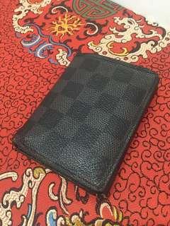 LV damier graphite wallet