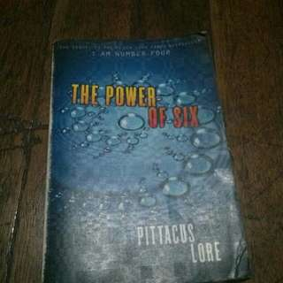 Power of six (second book of i am number 4)