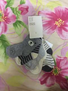 NEW 5pack H&M baby socks