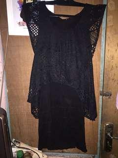 DRESS HITAM (cocok untuk pesta)
