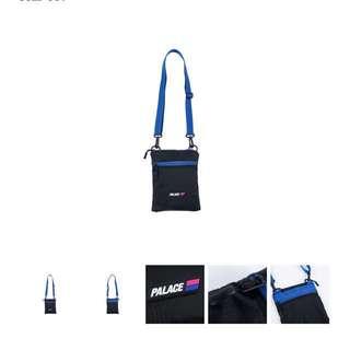 Palace flat sack black 斜揹袋
