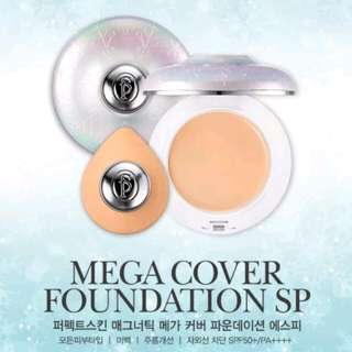 [PERFECT SKIN] MAGNETIC MEGA COVER FOUNDATION SP SNOW EDITION (ORIGINAL)