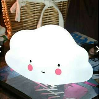 Cloud lamp white