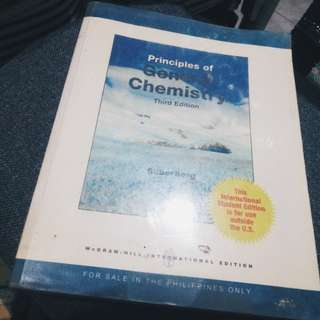 Principles of General Chemistry 3rd Edition by Silberberg
