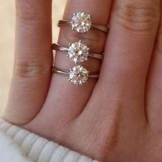 鑽石/鑽石戒指/鑽石耳環