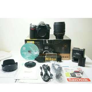Nikon D7000 (Body + Lens /相機+鏡頭)