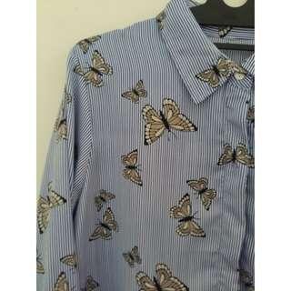 Butterfly Stripes Shirt