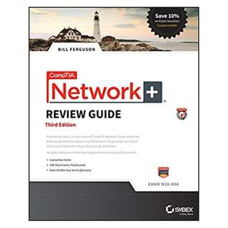 CompTIA Network+ Review Guide: Exam N10-006 3rd Edition, Kindle Edition by Bill Ferguson  (Author)