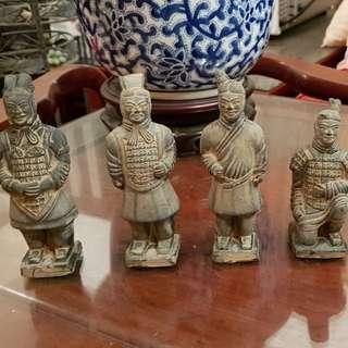 Terracotta warriors minatures