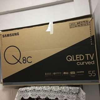 Samsung 55inch cartoon tv box